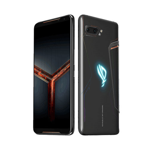 Asus ROG Phone 2 128gb Black front back view