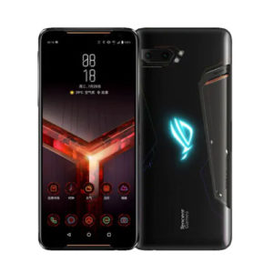 Asus ROG Phone 2 512gb black front back view