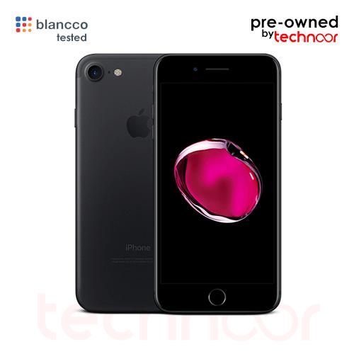 used iPhone 7 matte black
