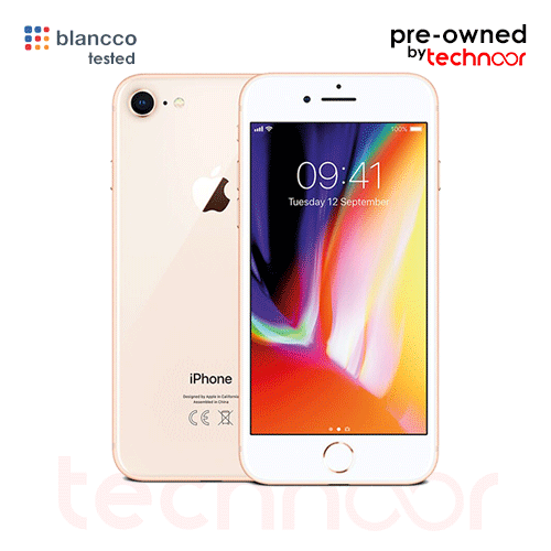 used iPhone 8 gold