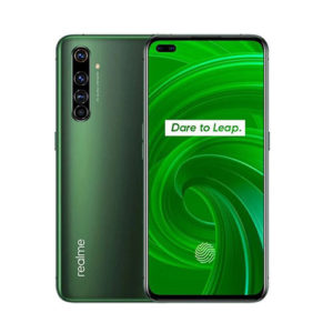 Realme X50 Pro 5G 128gb moss green front back view
