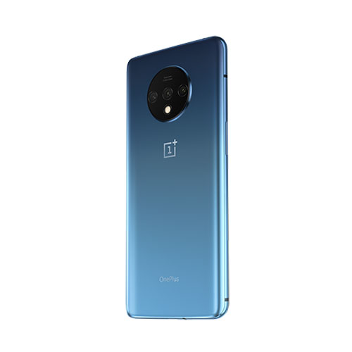 oneplus 7t Glacier Blue back view