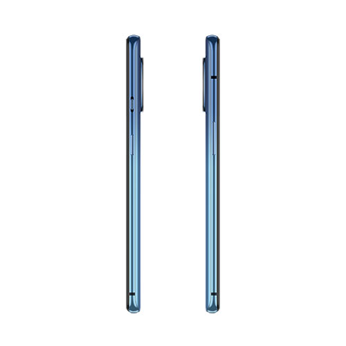 oneplus 7t Glacier Blue side view
